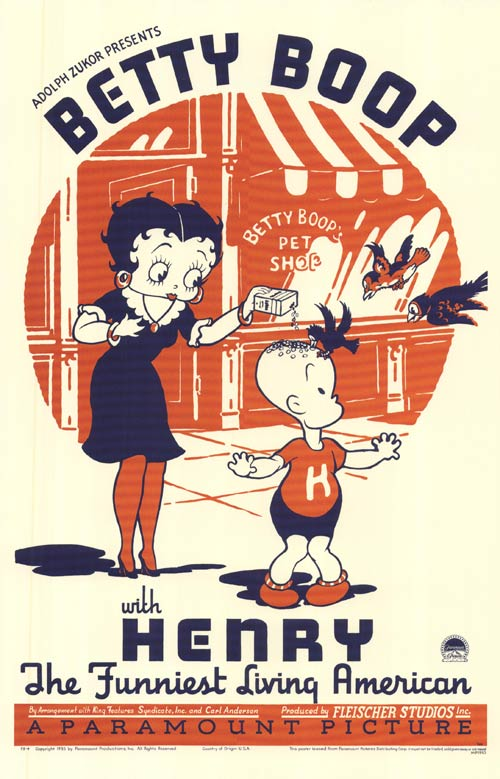 betty boop movie poster ecards