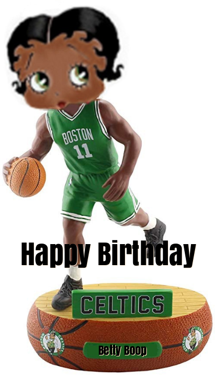 Betty Boop Celtics Birthday ECards