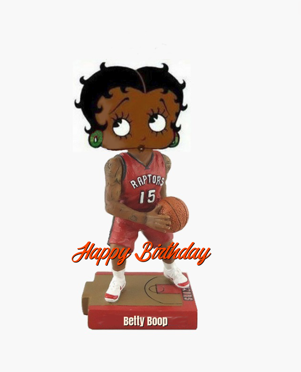 Betty Boop Raptors Birthday ECards